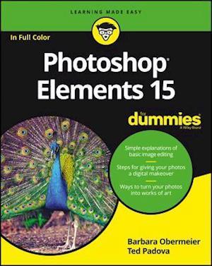 Bog, paperback Photoshop Elements 15 for Dummies af Barbara Obermeier