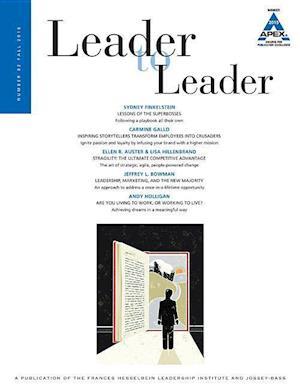 Bog, paperback Leader to Leader (LTL) af Ltl