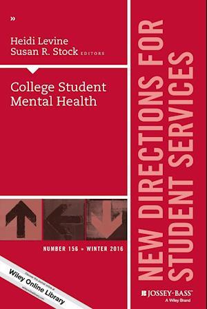 Bog, paperback College Student Mental Health, SS 156 af Heidi Levine