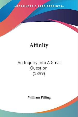 Affinity af William Pilling