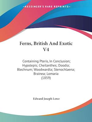 Ferns, British and Exotic V4 af Edward Joseph Lowe