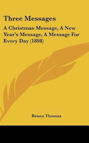Three Messages af Reuen Thomas