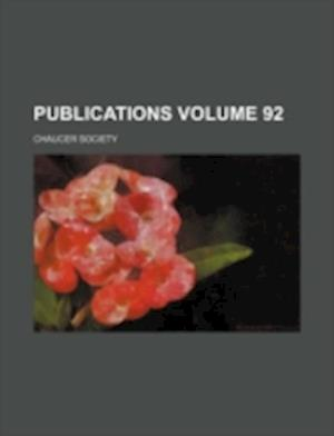 Publications Volume 92 af Chaucer Society
