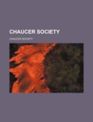 Chaucer Society af Chaucer Society
