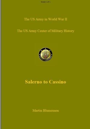 Salerno to Cassino af Martin Blumenson