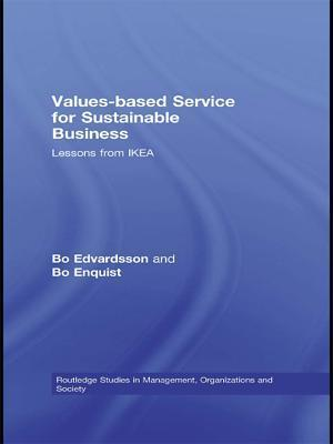 Values-based Service for Sustainable Business af Bo Edvardsson