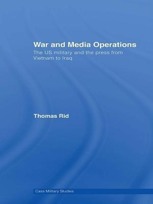 War and Media Operations af Thomas Rid