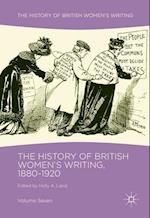 The History of British Women's Writing, 1880-1920 (History of British Women