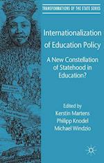 Internationalization of Education Policy af Philipp Knodel, Kerstin Martens