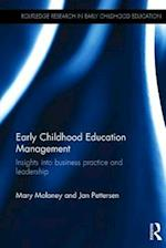 Early Childhood Education Management (Routledge Research in Early Childhood Education)