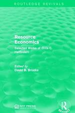 Resource Economics af David B. Brooks