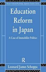 Education Reform in Japan (Nissan Institute/Routledge Japanesestudies)