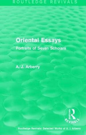Oriental Essays af A. J. Arberry