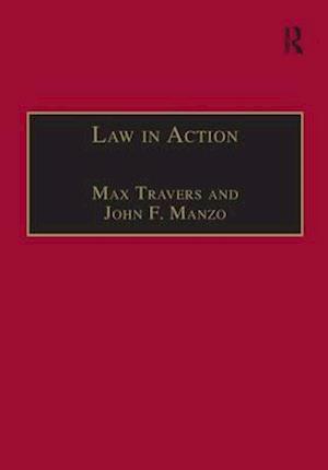 Bog, paperback Law in Action af Dr. Max Travers