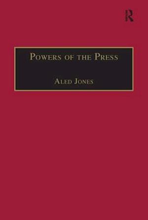 Bog, paperback Powers of the Press af Aled Jones