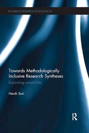 Bog, paperback Towards Methodologically Inclusive Research Syntheses af Harsh Suri