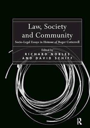 Bog, paperback Law, Society and Community af Richard Nobles