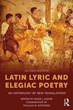 Latin Lyric and Elegiac Poetry af Diane J. Rayor