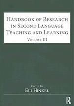 Handbook of Research in Second Language Teaching and Learning (Esl & Applied Linguistics Professional)