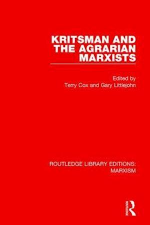 Bog, paperback Kritsman and the Agrarian Marxists af Terry Cox