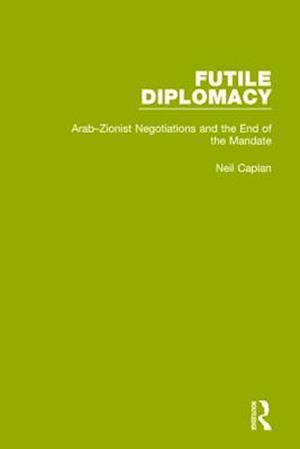 Bog, paperback Futile Diplomacy, Volume 2 af Neil Caplan