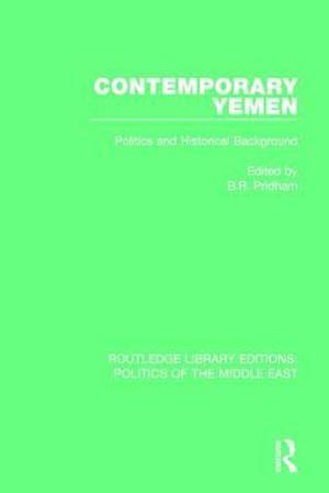 Bog, paperback Contemporary Yemen af B. R. Pridham