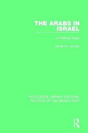 Bog, paperback The Arabs in Israel af Jacob M. Landau