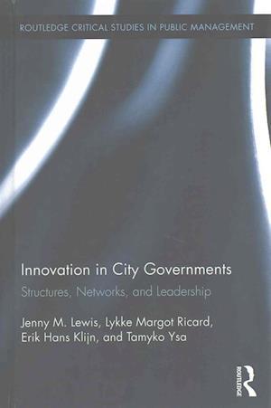 Bog, hardback Innovation in City Governments af Jenny Lewis