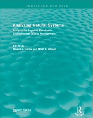 Bog, paperback Analyzing Natural Systems af Daniel J. Basta