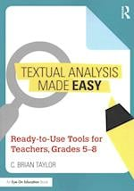 Textual Analysis Made Easy af C. Brian Taylor