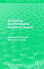 Analyzing Nonrenewable Resource Supply af Douglas R. Bohi