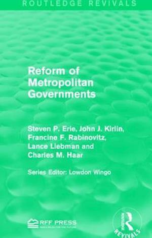 Reform of Metropolitan Governments af Steven P. Erie