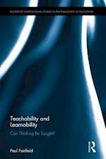 Teachability and Learnability (Routledge International Studies in the Philosophy of Education, nr. 40)
