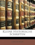Kleine Historische Schriften af Gerson Wolf