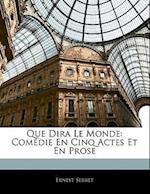 Que Dira Le Monde af Ernest Serret