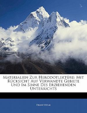 Materialien Zur Herodotlekture af Franz Helm