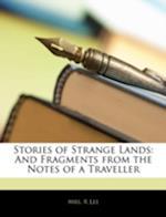 Stories of Strange Lands af R. Lee