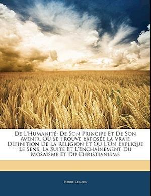 de L'Humanite af Pierre Leroux
