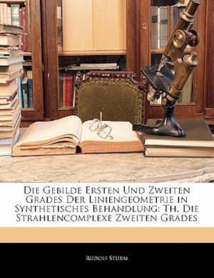 Die Gebilde Ersten Und Zweiten Grades Der Liniengeometrie in Synthetisches Behandlung af Rudolf Sturm
