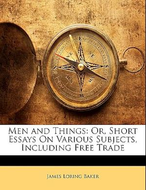 Men and Things af James Loring Baker