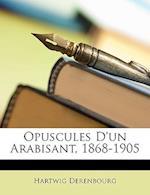 Opuscules D'Un Arabisant, 1868-1905 af Hartwig Derenbourg