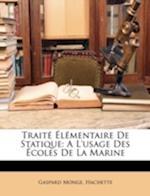 Trait Lmentaire de Statique af Gaspard Monge, Hachette