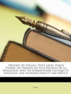 -Oeuvres de Virgile af Virgil Virgil