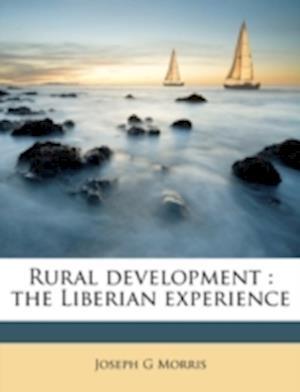 Rural Development af Joseph G. Morris