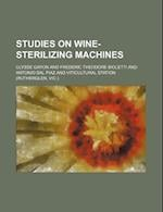 Studies on Wine-Sterilizing Machines af Gayon, Ulysse Gayon