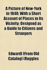 A Picture of New-York in 1848; With a Short Account of Places in Its Vicinity; Designed as a Guide to Citizens and Strangers af Edward Ruggles