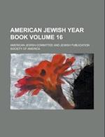 American Jewish Year Book Volume 16 af American Jewish Committee