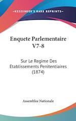 Enquete Parlementaire V7-8 af Assemblee Nationale, Nationale Assemblee Nationale