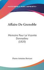 Affaire de Grenoble af Pierre Antoine Berryer