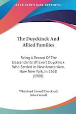 The Duyckinck and Allied Families af Whitehead Cornell Duyckinck, John Cornell
